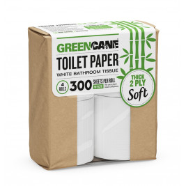 Eco-Toilet Paper 4 Pack, 2 PLY