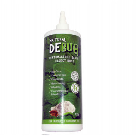 DEBug Diatomaceous Earth, Insect Dust, 400g