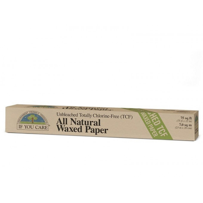 Unbleached Waxed Paper, 23m